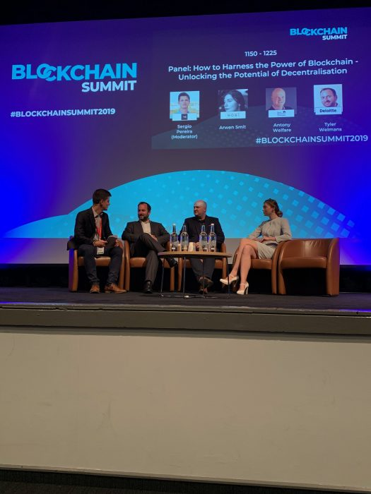 Antony Welfare #BlockchainSummit19