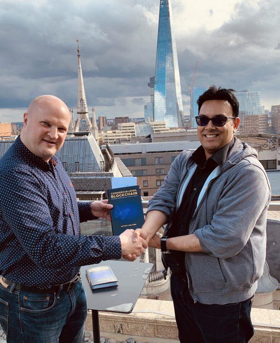 Nikhil Vadgama, Commercializing Blockchain