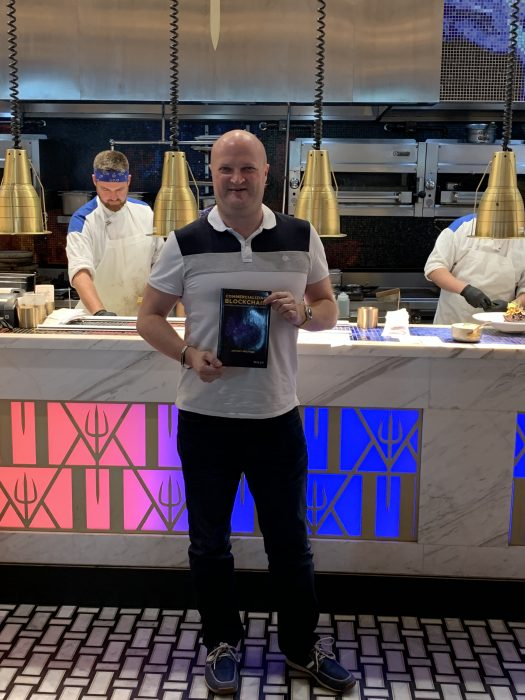 Commercializing Blockchain Antony Welfare at Hells kitchen